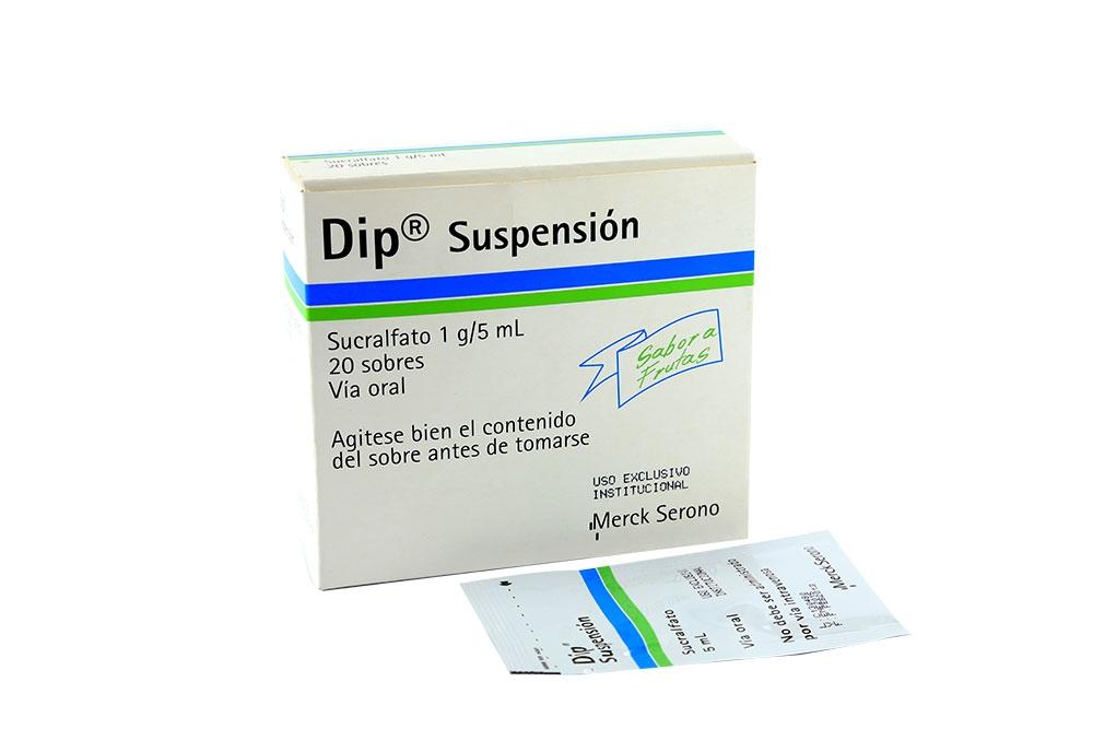Dip Suspensión Caja Con 20 Sobres Rx