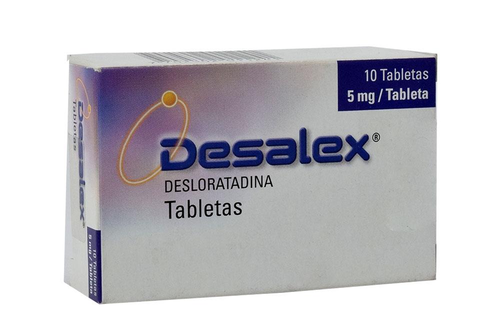 Desalex 5 mg Caja Con 10 Tabletas Rx