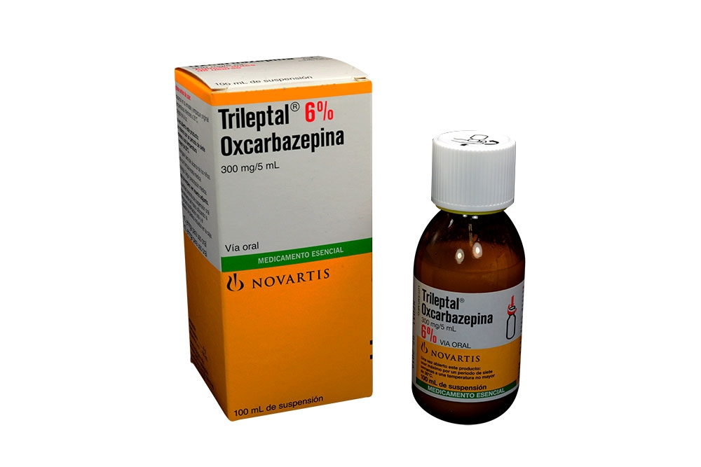 Trileptal 6 % 300 mg / 5 mL Caja Con Frasco 100 mL Rx4