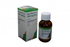 Pen Vee K  250 mg / 5 mL Caja Con Frasco Con 100 mL - Pediátrico Rx