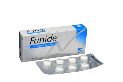 Funide 250 mg Caja Con 14 Tabletas Rx