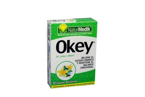 Okey Naturmedik Caja Con 30 Tabletas