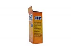 Aceite De Hígado De Bacalao  AHB Caja Con 150 Cápsulas