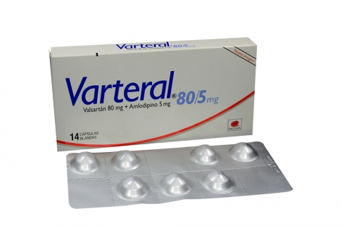 Varteral 80 / 5 mg Caja Con 14 Cápsulas Blandas Rx4