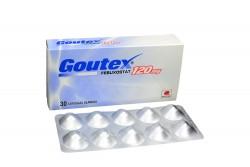 Goutex 120 mg Caja Con 30 Cápsulas Blandas Rx