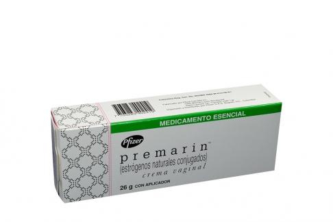 Premarin Crema Vaginal Caja Con Tubo Con 26 g Con Aplicador Rx