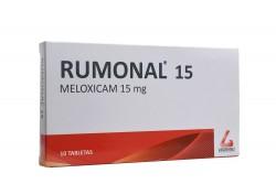 Rumonal 15 mg Caja Con 10 Tabletas Rx