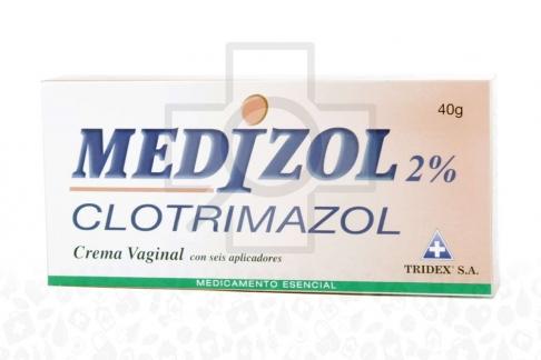 Medizol Crema Caja Con Tubo x 40 g Rx