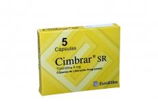 Cimbrar Sr 6 Mg Caja Con 5 Cápsulas De Liberación Programada Rx