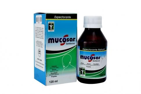 Mucosar Jarabe Caja Con Frasco Con 120 mL