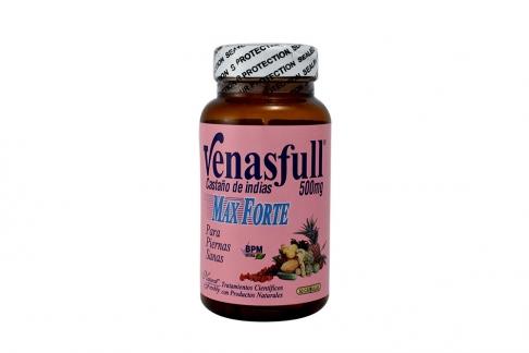 Venasfull Max Forte 500 mg Frasco x 50 Cápsulas
