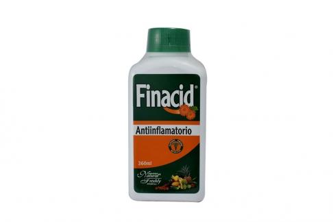 Finacid Solución De Caléndula Frasco Con 360 mL