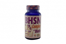 B.H.S.N. Complex With Biotin Frasco Con 50 Softgel