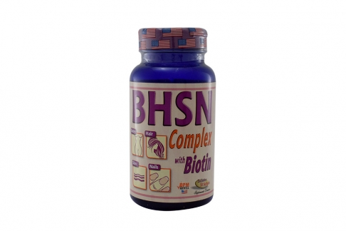 B.H.S.N. Complex With Biotin Frasco Con 50 Softgel
