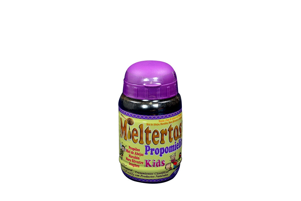 Mieltertos Kids Jarabe Frasco Con 260 mL