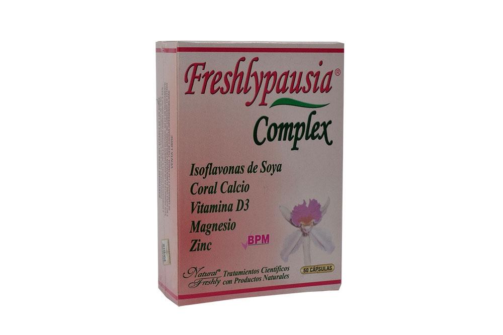 Freshly Pausia Complex Caja Con 60 Cápsulas
