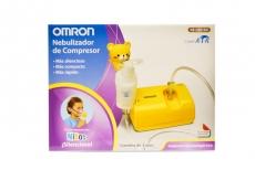 Omron Nebulizador de Compresor de niños con V.V.T. NE-C801KDLA Caja Con 1 Unidad