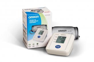 Omron Monitor de Brazo Automatico -Basico HEM-7114INT Caja Con 1 Unidad