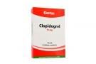 Clopidogrel 75 mg Caja X 14 Tabletas Recubiertas Rx