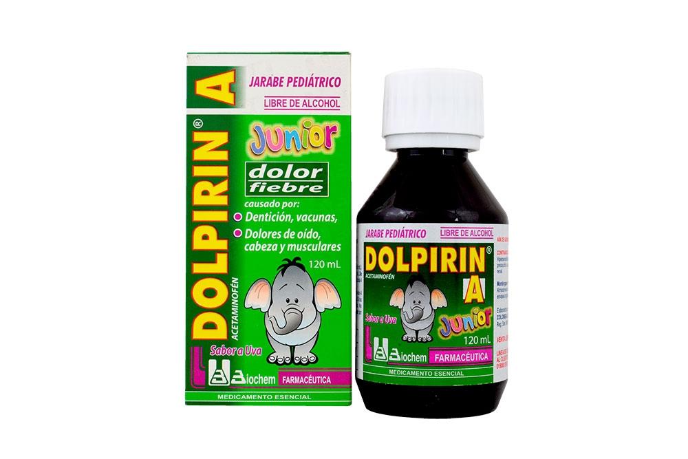 Dolpirin Jarabe Caja Con Frasco Con 120 mL