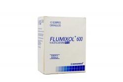 Flumixol Sabor Naranja 10 Sobres Gránulos X 600 mg Rx