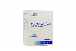 Flumixol Sabor Naranja Caja Con 10 Sobres Gránulos Con 600 mg Rx