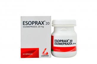 Esoprax 20 mg Caja Con Frasco Con 14 Cápsulas Rx