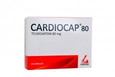 Cardiocap 80 mg Caja Con 28 Cápsulas Rx