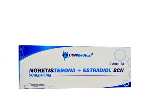 Norestisterona + Estradiol 50 mg / 5 mg Caja x 1 Ampolla Rx