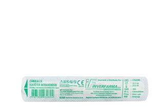 Catéter Intravenoso Estéril Con Válvula Tamaño 22 g  Bolsa Con 1 Unidad