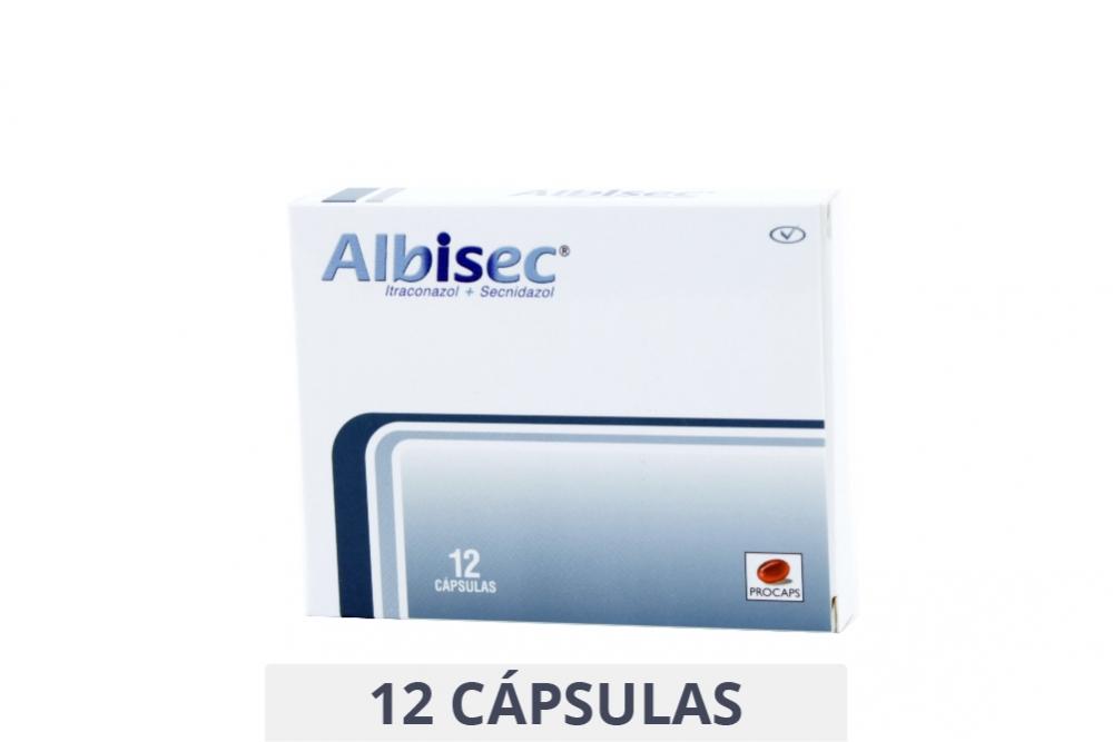Albisec Caja Con 12 Cápsulas Rx