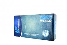 Guante Azul Nitrillo Talla S 6 1/2 Caja Con 100 Pares