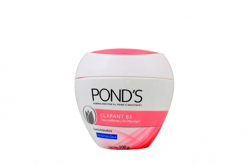 Pond's Clarant B3 Tono Uniforme Frasco Con 100 g