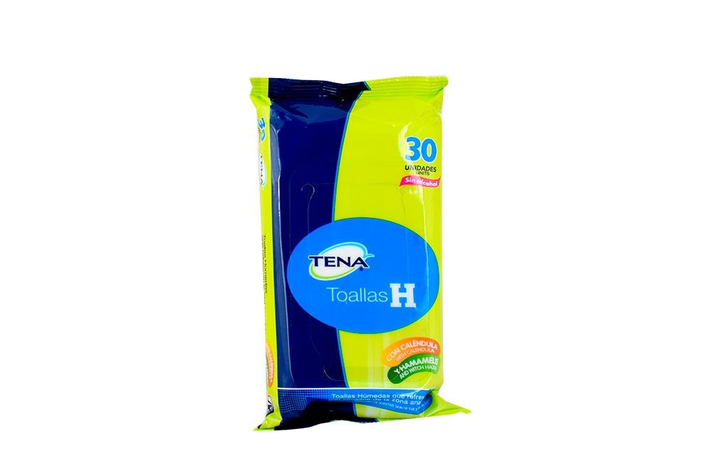 Toallas Húmedas Tena H Empaque Con 30 Unidades