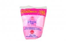 Pañitos Húmedos Johnson Baby Empaque Con 140 Unidades