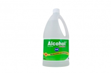 Alcohol Antiséptico Mk Frasco Con 700 mL