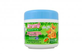 Crema Protectora Para Bebé Arrurrú Pote Con 100 g