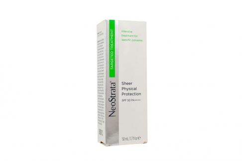 Neostrata ® Sheer Physical Protection SPF 50 Caja Con Tubo Con 50 mL