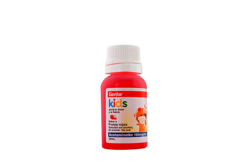 Comprar Acetaminofen Gotas 100 Mg Ml 30ml Frutos Rojos