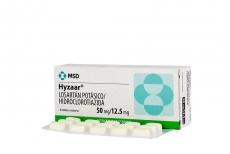 Hyzaar 50 / 12.5 mg Caja Con 30 Grageas Rx4