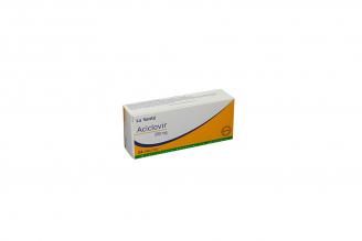 Aciclovir 200 mg Caja Con 24 Tabletas Rx