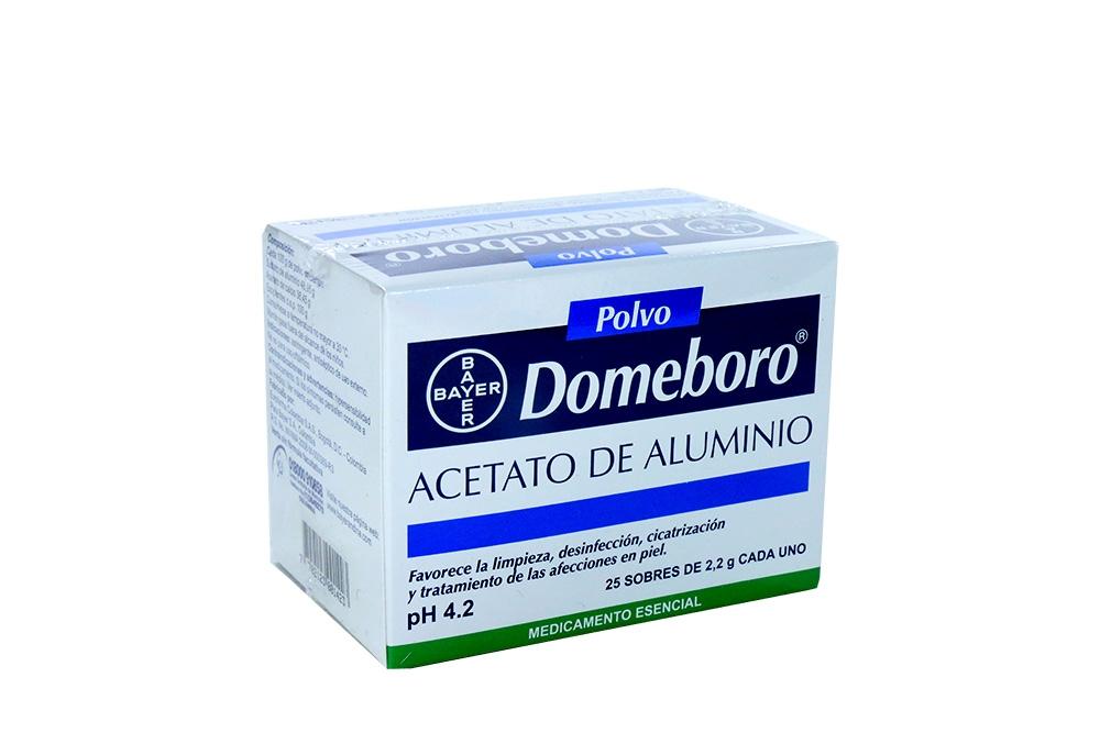 Domeboro Caja Con 25 Sobres Con 2.2 C/U