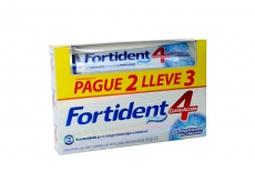 Fortident Crema Dental Con Flúor Caja Con Tubo Con 72 mL – Pague 2 Lleve 3