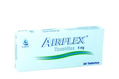 Airflex 4 mg Caja Con 20 Tabletas Rx