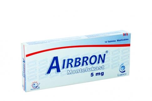 Airbron Labinco 5 mg Caja Con 10 Tabletas Masticables Rx