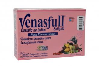Venasfull Freshly 500 mg Frasco Con 30 Capsulas