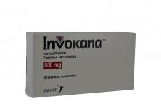 Invokana 300 mg Caja Con 30 Tabletas Rx4
