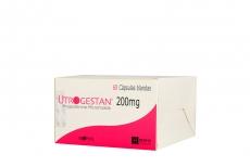 Utrogestan 200 mg Caja Con  60 Cápsulas Rx