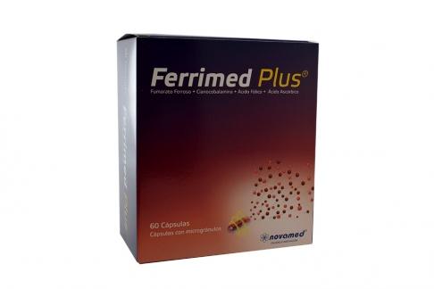 Ferrimed Plus Caja Con 60 Cápsulas Rx