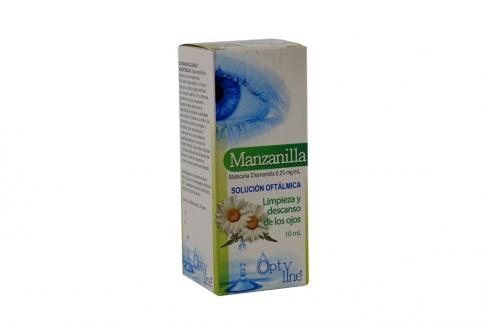 Optyline Manzanilla Frasco Con 10 mL